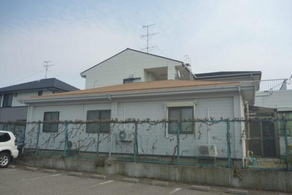 新潟市東区S医院様 ガイナ塗装屋根壁