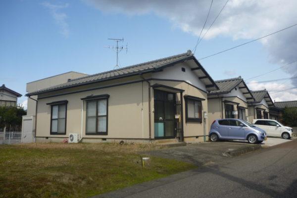 新潟県新発田市アパート3棟 外壁張替