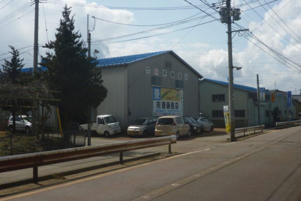 新発田市 S商店様 工場屋根塗装