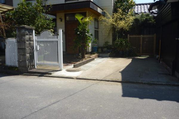 新潟県新潟市中央区 K様邸 駐車場拡幅工事