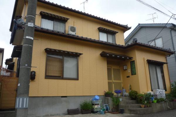 新潟県新潟市東区:O様邸 外壁塗装工事