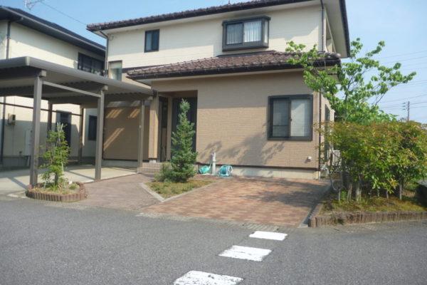 新潟県新潟市江南区 T様 外壁塗装・破風板塗装・雨樋塗装・外構工事