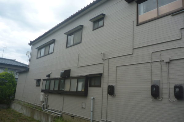 新潟県新潟市東区 E様邸外壁塗装工事