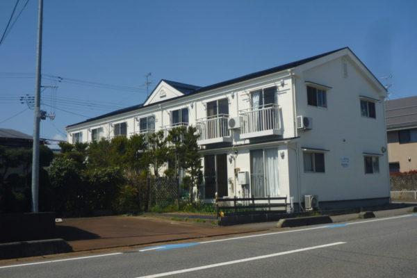 新潟県新潟市北区 アパート外壁塗装・屋根塗装