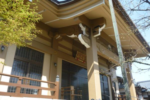 新潟県新潟市江南区 お寺本堂外壁塗装工事