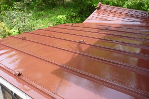 新潟県見附市 金属屋根塗装工事