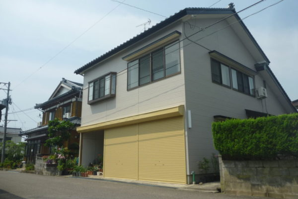 新潟県五泉市 B様邸:外壁塗装・外壁カバー施工工事