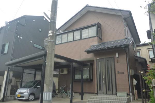 新潟県新潟市中央区M様邸外壁塗装工事