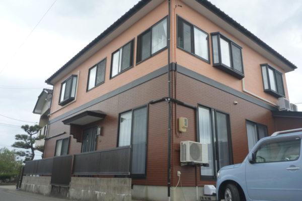 新潟県新潟市江南区K様邸外壁塗装・雨樋塗装