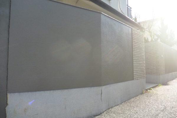 新潟県新潟市西区真砂 H様邸ブロック塀塗装工事