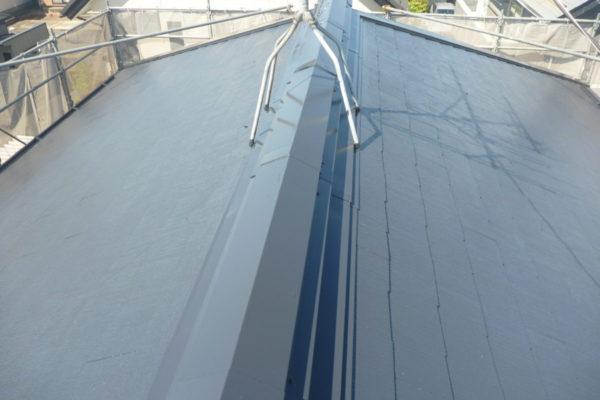 新潟県新潟市江南区H様邸屋根塗装工事