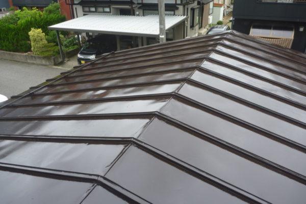 新潟県新潟市江南区A様邸屋根塗装工事