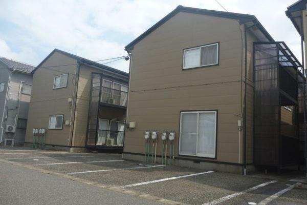 新潟県新潟市南区アパート外壁張替え・外壁塗装・屋根塗装工事