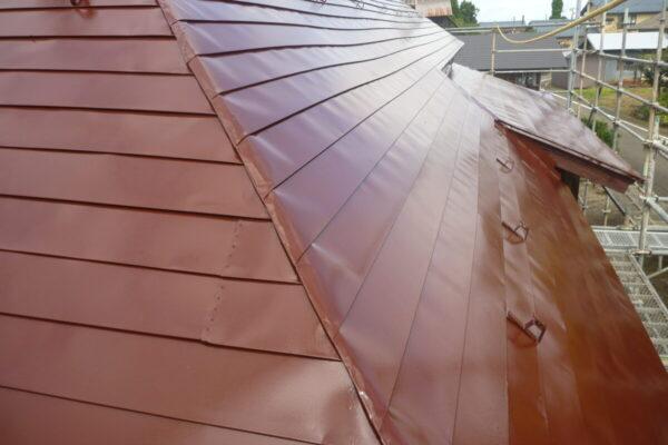 新潟県五泉市H様邸屋根シリコン塗装工事